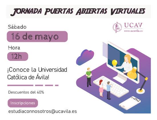 La UCAV vuelve a abrir sus puertas de manera virtual para futuros alumnos
