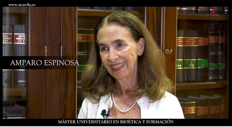 La presidenta de la asociación pro eutanasia de México, Amparo Espinosa, defensora de los cuidados paliativos tras estudiar el Máster de Bioética de la UCAV y el CEU