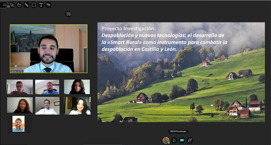El desarrollo de la «Smart Rural» como instrumento para combatir la despoblación en Castilla y León, el proyecto becado por la AAUCAV