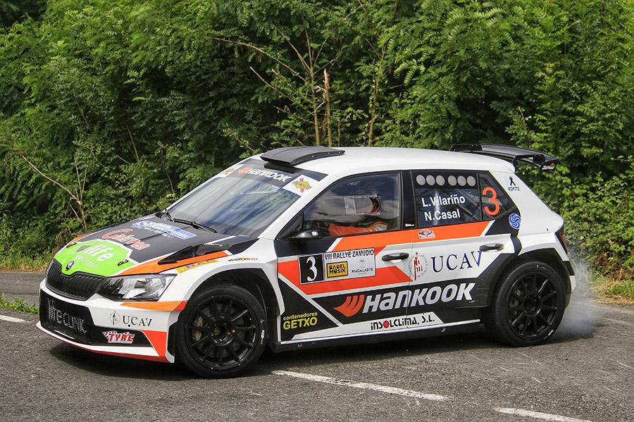 Prueba superada con nota para el UCAV Racing en el Rally de Zamudio