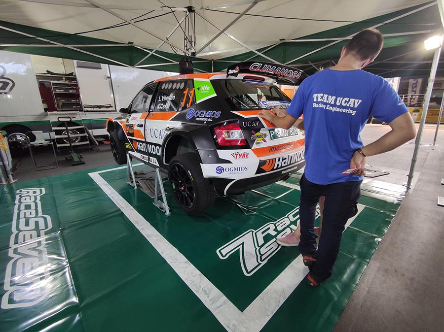 El UCAV Racing se estrena en el CERA en Ourense