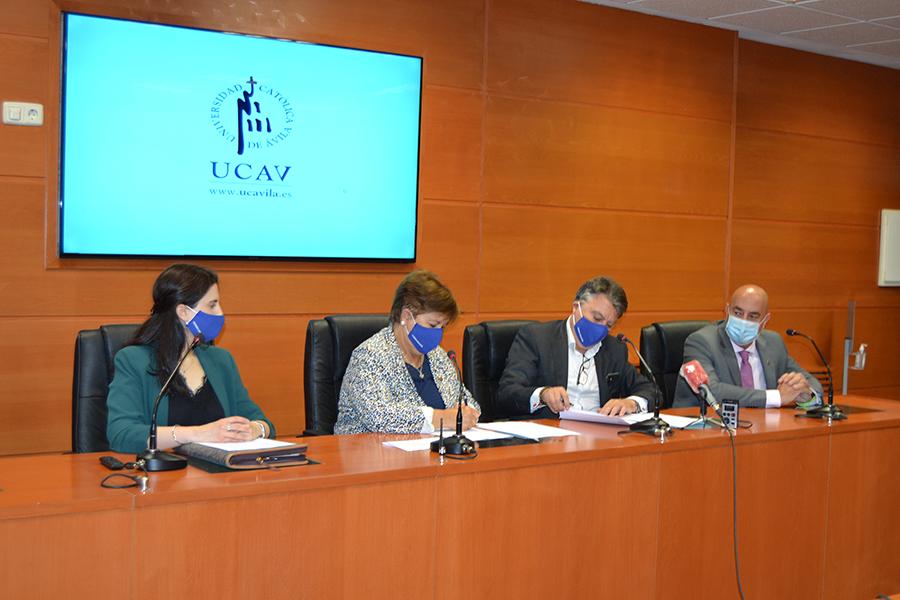 El CEFIGSE de la UCAV firma un convenio de colaboración con la Asociación Europea de Profesionales para el conocimiento y regulación de actividades de Seguridad ciudadana