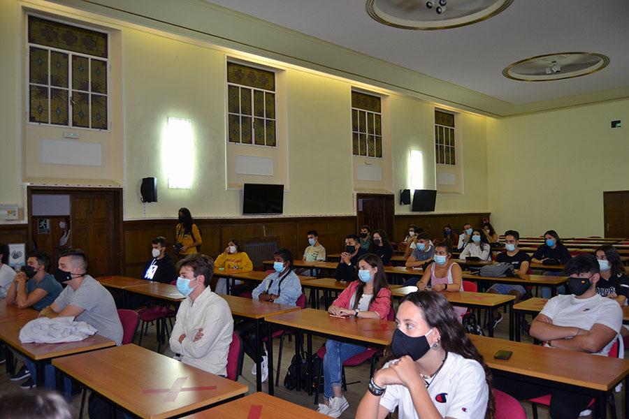 La UCAV inicia el curso académico 2020-2021 con un acto de bienvenida para los alumnos de primer curso