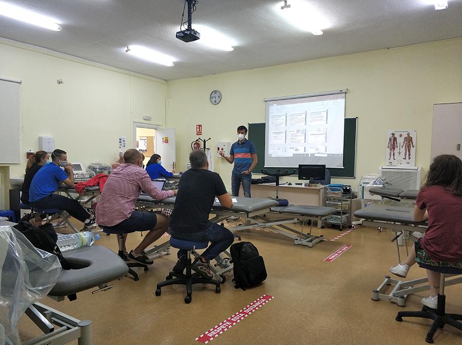 La UCAV inicia el Máster Universitario en Terapia Manual del Sistema Musculoesquelético