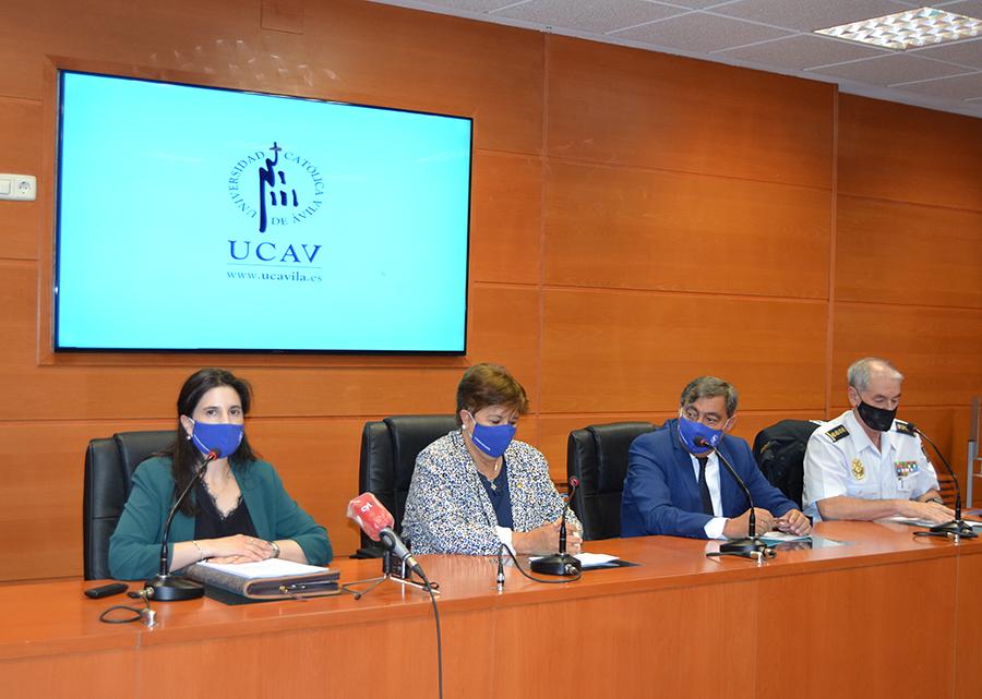 La UCAV inaugura la VIII edición del Máster en Criminología Aplicada e Investigación Policial de la UCAV en colaboración con la Escuela Nacional de Policía de Ávila