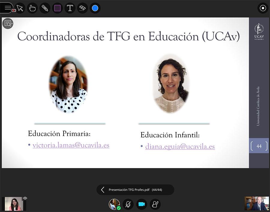 El Centro de Estudios de Innovación y Formación del Profesorado en Educación de la UCAV celebra la jornada Academic Writing Skills: Tutorizar Trabajos de Fin de Grado en la era digital