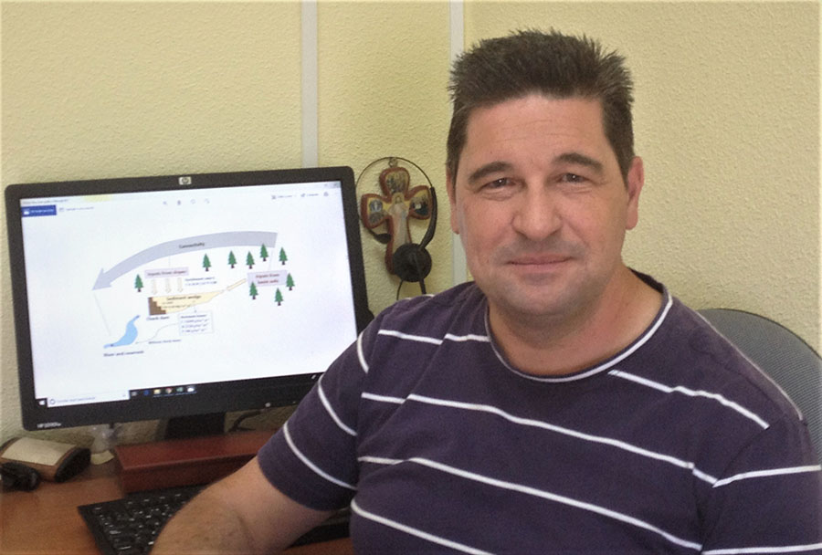 Jorge Mongil, profesor de la UCAV, gana el premio al Mejor Proyecto de Ávila de los Premios Innovadores del diario El Mundo de Castilla y León