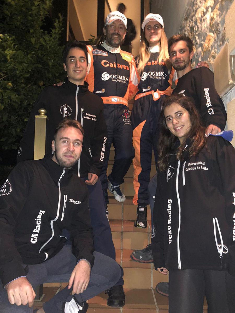 Tercer puesto para el UCAV Racing en el Rally de Cobreces