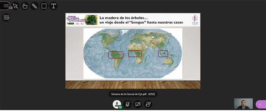 La era digital, los modelos geométricos y la madera, temas expuestos en el cuarto día de la Semana de la Ciencia de Castilla y León en la UCAV