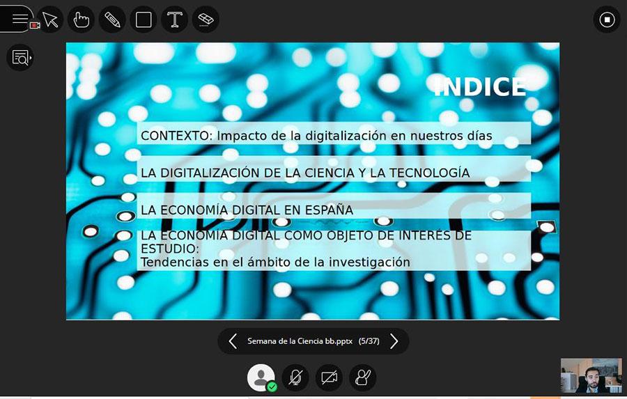 Economía digital, anatomía humana y redes de sociabilización, los temas que han inaugurado la XVIII Semana de la Ciencia de Castilla y León en la UCAV