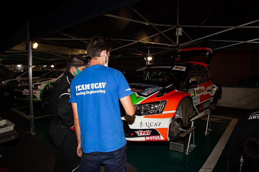 El UCAV Racing Engineering firma un gran Rallye La Nucía con Luis Vilariño