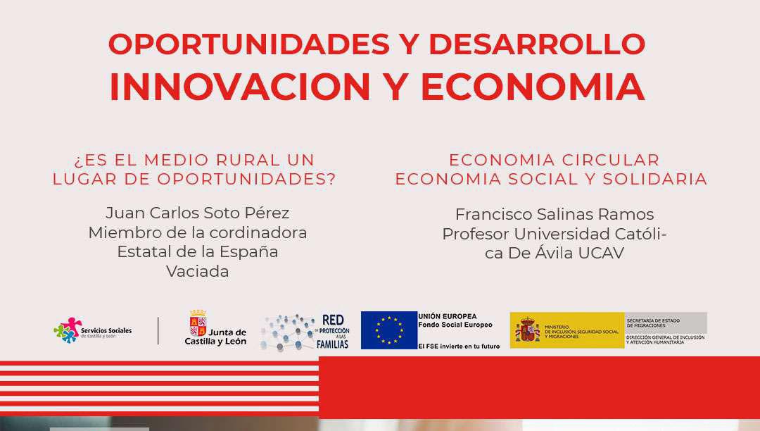La UCAV participa en la mesa de trabajo 'Oportunidades y desarrollo, innovación y economía' organizada por Cruz Roja Ávila