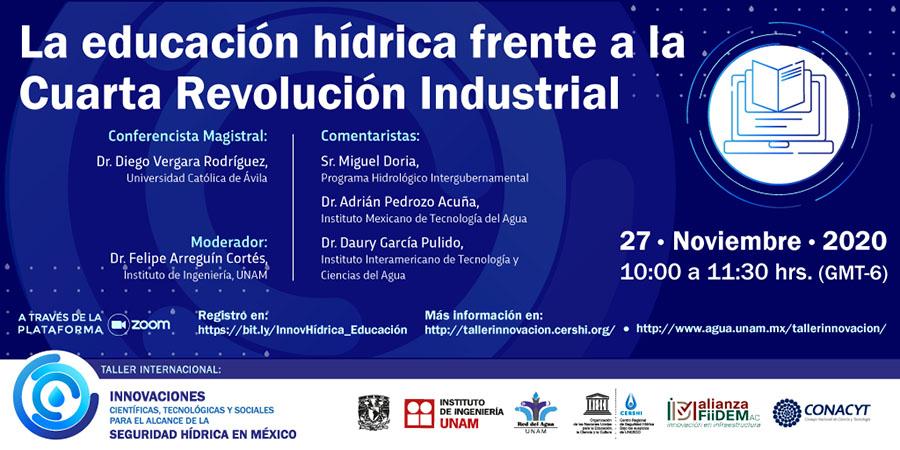 El profesor de la UCAV Diego Vergara participa en un taller internacional sobre la seguridad hídrica en México