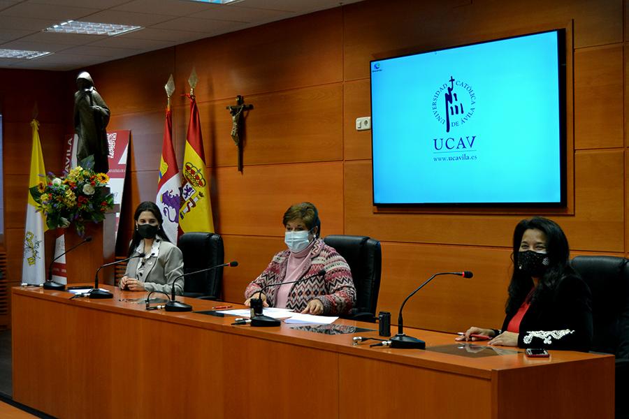 El Centro de Formación e Investigación en Gestión de la Seguridad de la UCAV firma un convenio de colaboración con la Women4Cyber Spain