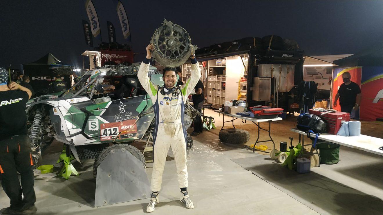 El alumno del UCAV Racing Engineering Oriol Vidal suma su primera victoria en el Dakar