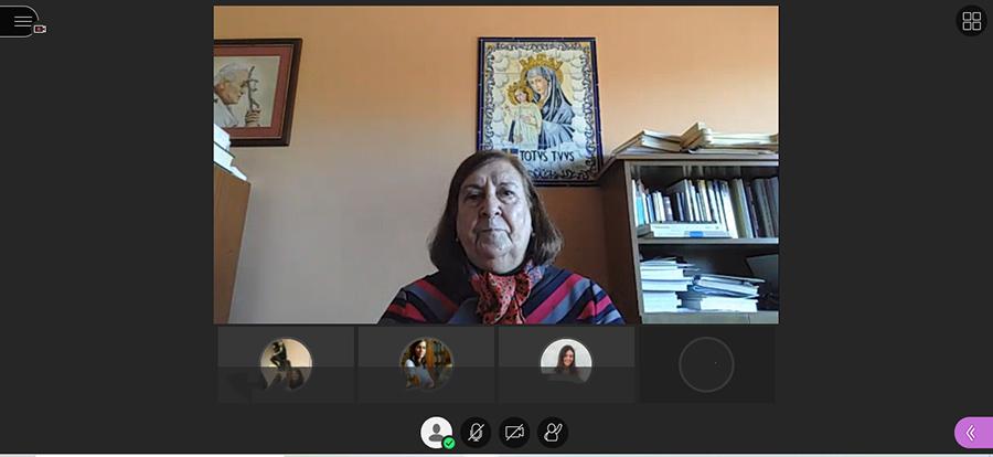 """Lydia Jiménez, presidenta del Consejo Directivo de la UCAV: """"Santa Teresa es maestra de vida y de humanidad"""""""