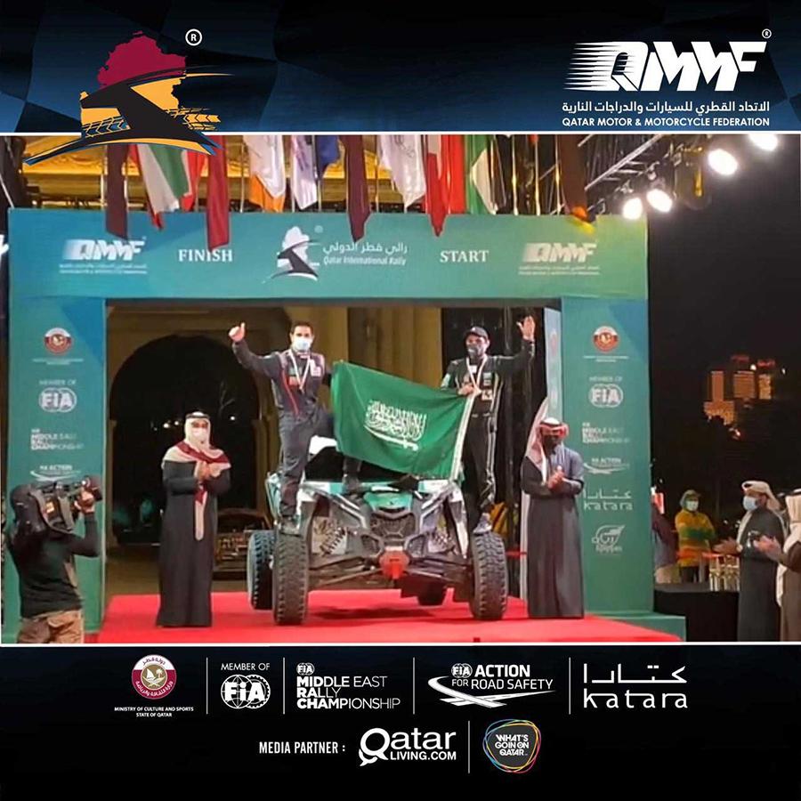 Oriol Vidal, alumno de la UCAV, y Saleh Al-Saif se alzan con la victoria en el Qatar International Rally en categoría T4 y sextos de la general