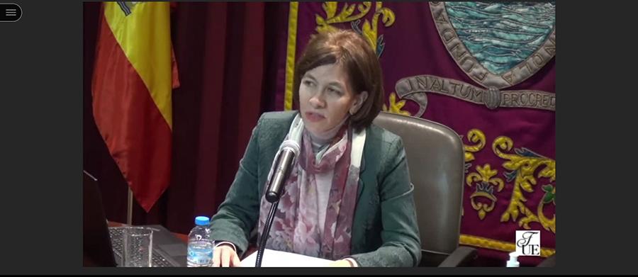 """La directora de la Cátedra de Estudios sobre la mujer de la UCAV, Sara Gallardo, participa en el Curso """"Pensar la mujer, ¿sola o en relación? Más allá de las ideologías"""""""