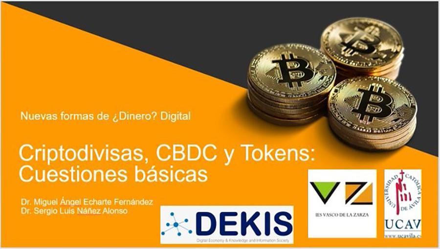 La UCAV lleva la educación financiera al IES Vasco de la Zarza con una conferencia sobre monedas digitales
