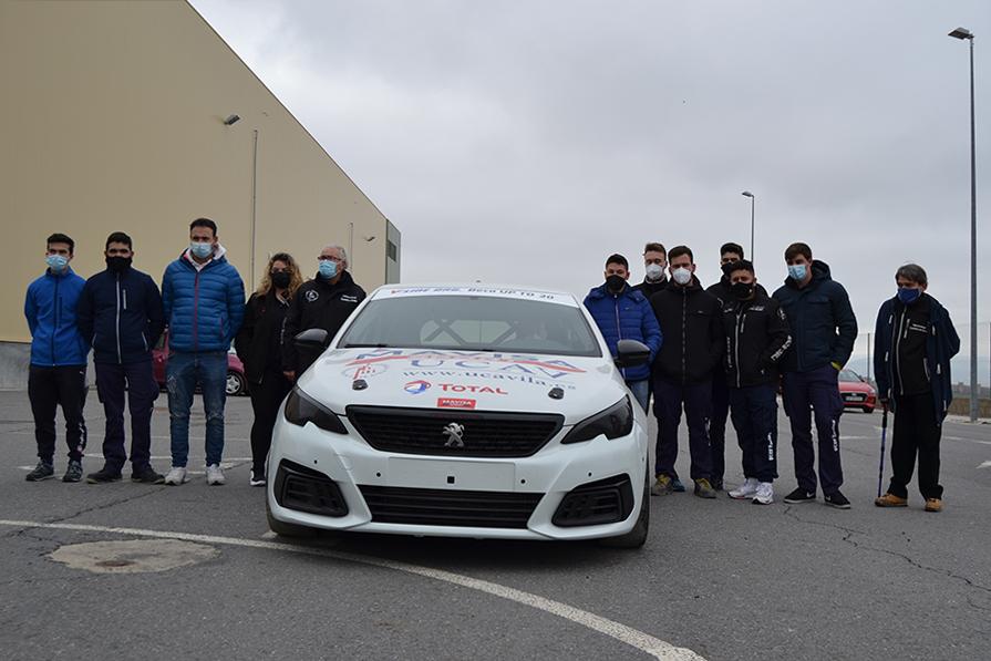 El UCAV Racing Engineering se prepara para el Campeonato de España de Turismos 2021