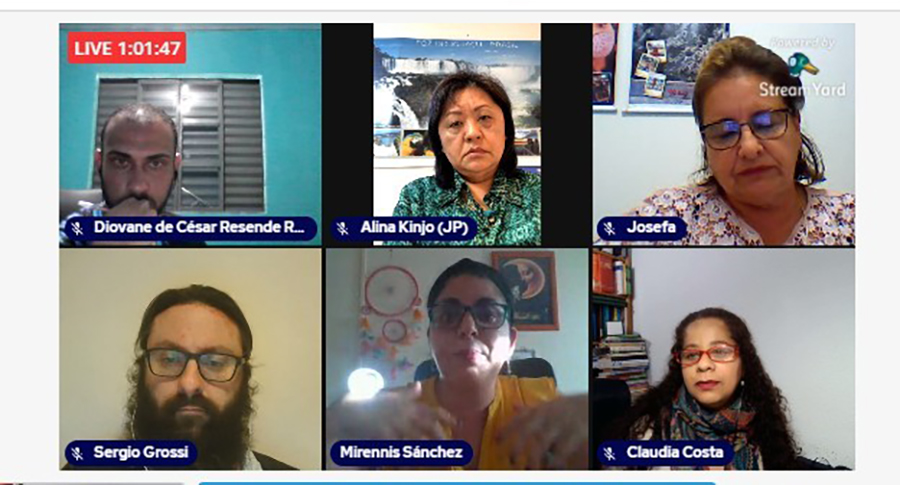 """La UCAV participa en el seminario Diálogos Educativos: """"Reflexiones sobre la pandemia"""" de Brasil"""