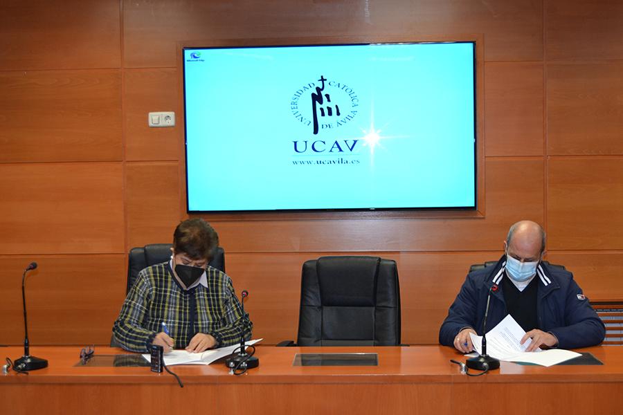 La UCAV amplía su colaboración con Cáritas Diocesana de Ávila