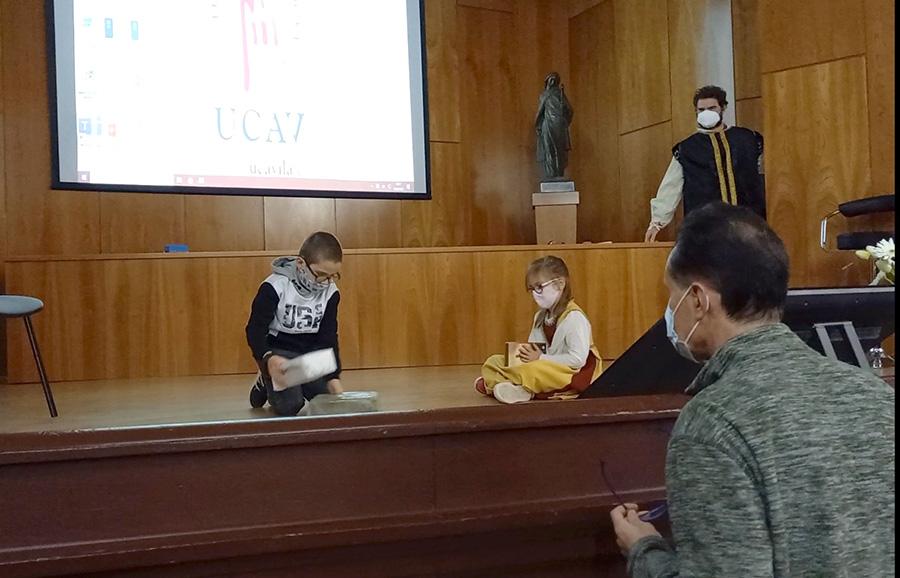 """El grupo de Teatro de la UCAV Representará """"Escenas de la vida de Santa Teresa"""" durante el congreso Mujer Excepcional. Cincuenta años del Doctorado de Santa Teresa de Jesús"""