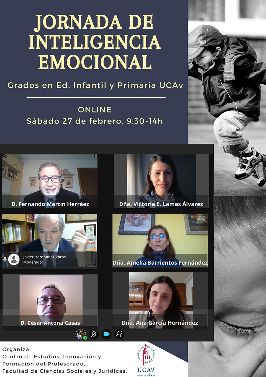 La UCAV celebra una Jornada de Inteligencia Emocional para la formación de los alumnos de los Grados en Educación