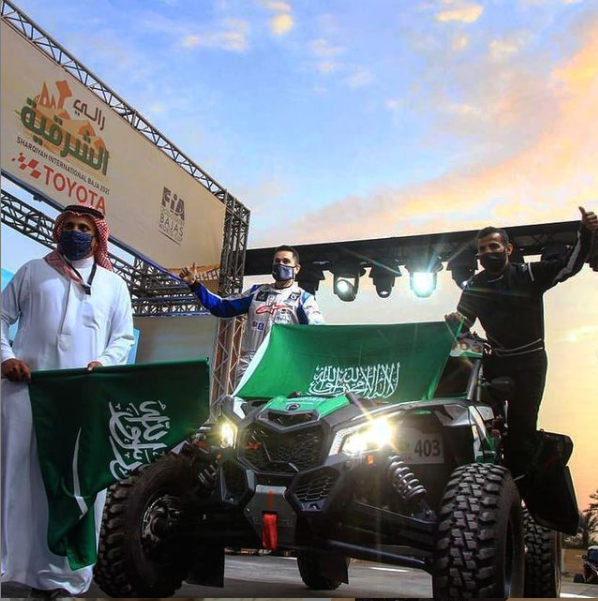 Podio histórico para el alumno de la UCAV Oriol Vidal con un vehículo ligero en la tercera prueba del Campeonato del Mundo de Cross Country Bajas