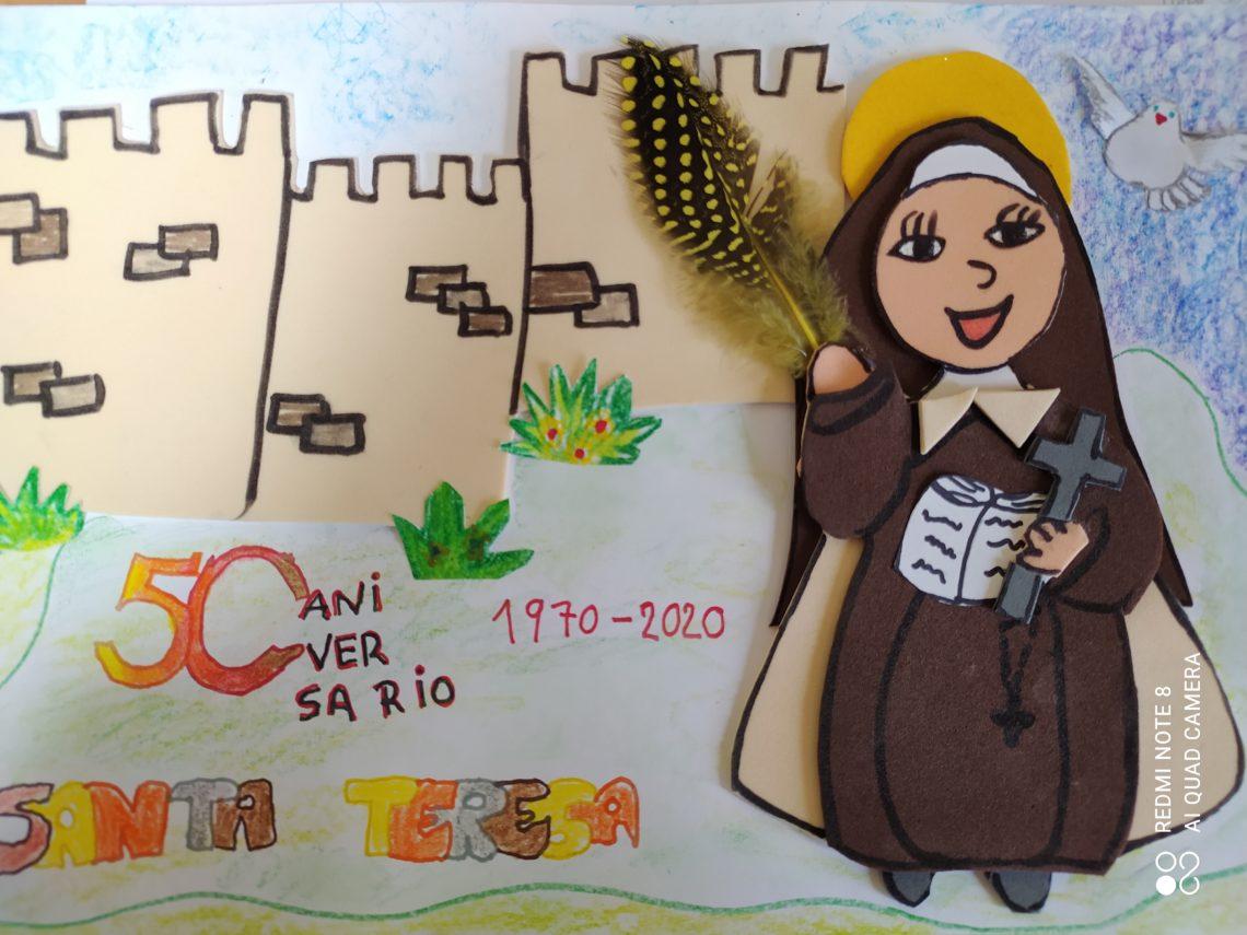 Más de 500 alumnos de educación primaria participan en el concurso de dibujo del congreso que conmemora Los cincuenta años Del Doctorado de Santa Teresa