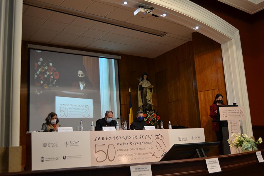 El Obispado de Ávila, los Carmelitas Descalzos y la UCAV inauguran El Congreso Internacional para conmemorar los cincuenta años del Doctorado de Santa Teresa de Jesús