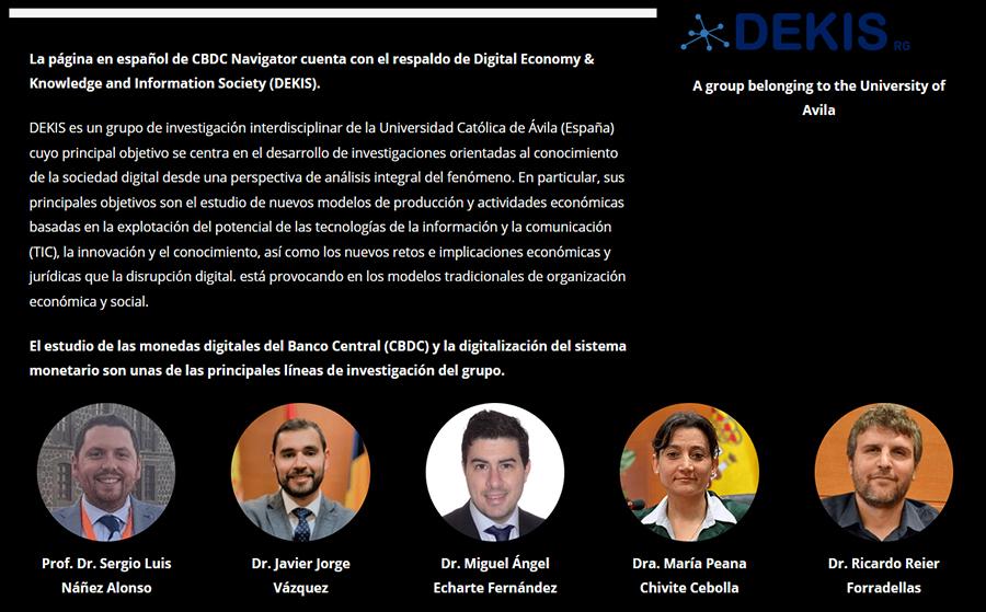 La UCAV, principal protagonista en la elaboración de la versión española del Navegador CBDC sobre monedas digitales