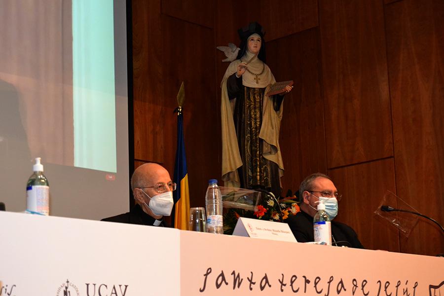 """El cardenal Ricardo Blázquez:"""" Santa Teresa es una mujer de muchas admiraciones"""""""