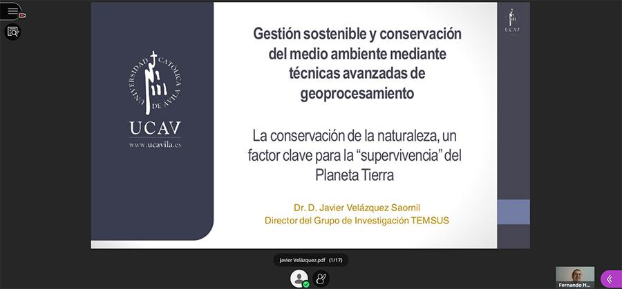 Las nuevas técnicas de geoprocesamiento, herramientas clave para una gestión sostenible y la conservación del medio natural