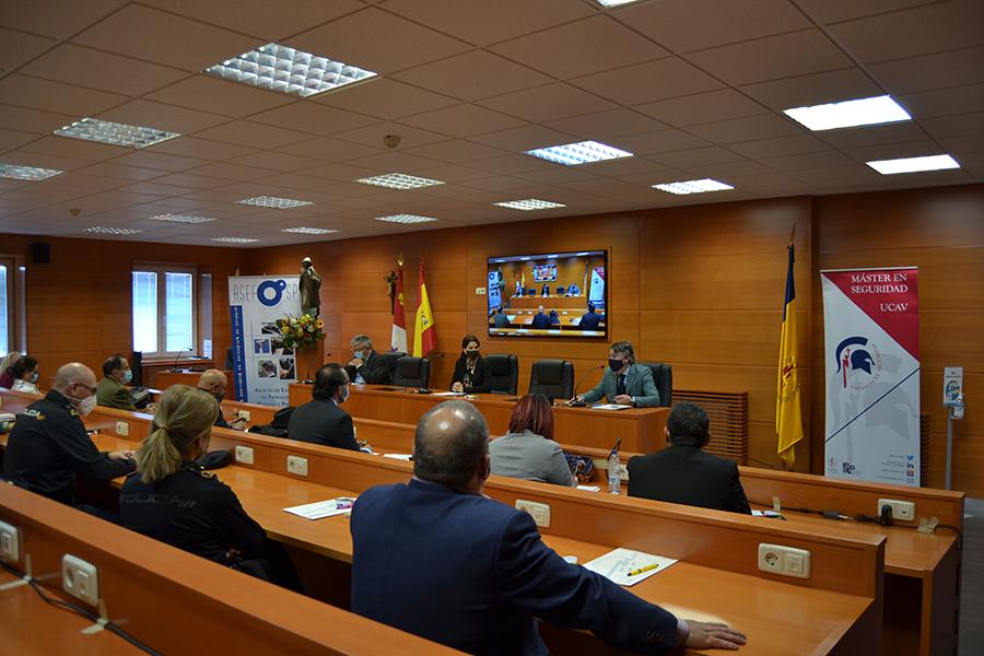 La UCAV celebra la II Jornada de ASEFOSP de preguntas y respuestas sobre la formación en la Seguridad Privada