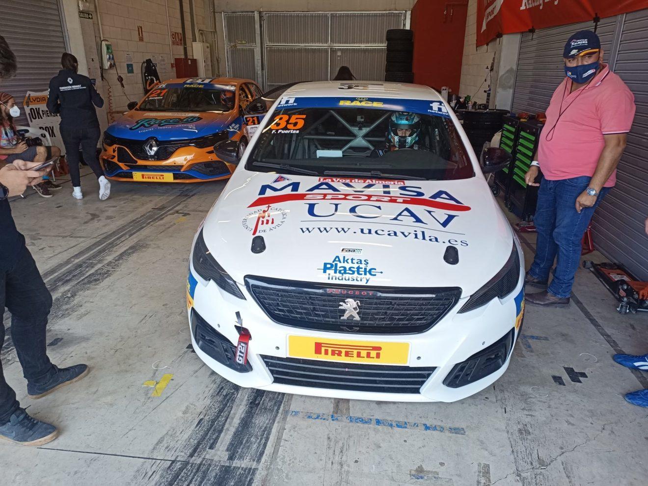 Buen inicio del equipo MAVISA by UCAV Racing Engineering en el CET de Navarra