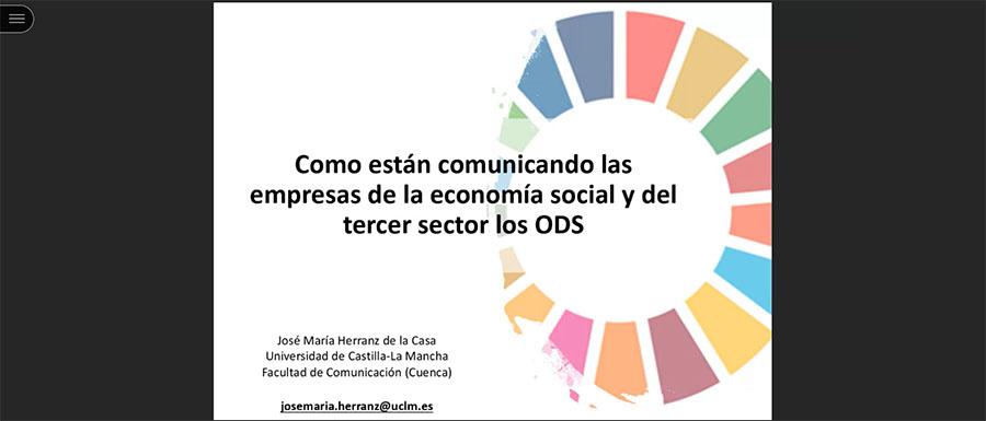 La comunicación en las empresas de la economía social y las políticas públicas centran la tercera sesión del Seminario de Economía Social y Objetivos de Desarrollo Sostenible de la UCAV