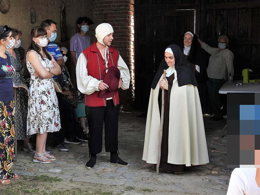 El Palomar de Santa Teresa (Gotarrendura) acoge una visita teatralizada a cargo de la UCAV