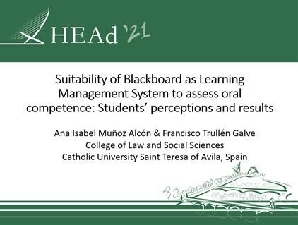 La UCAV, presente en el Congreso Educativo Internacional HEAd 21