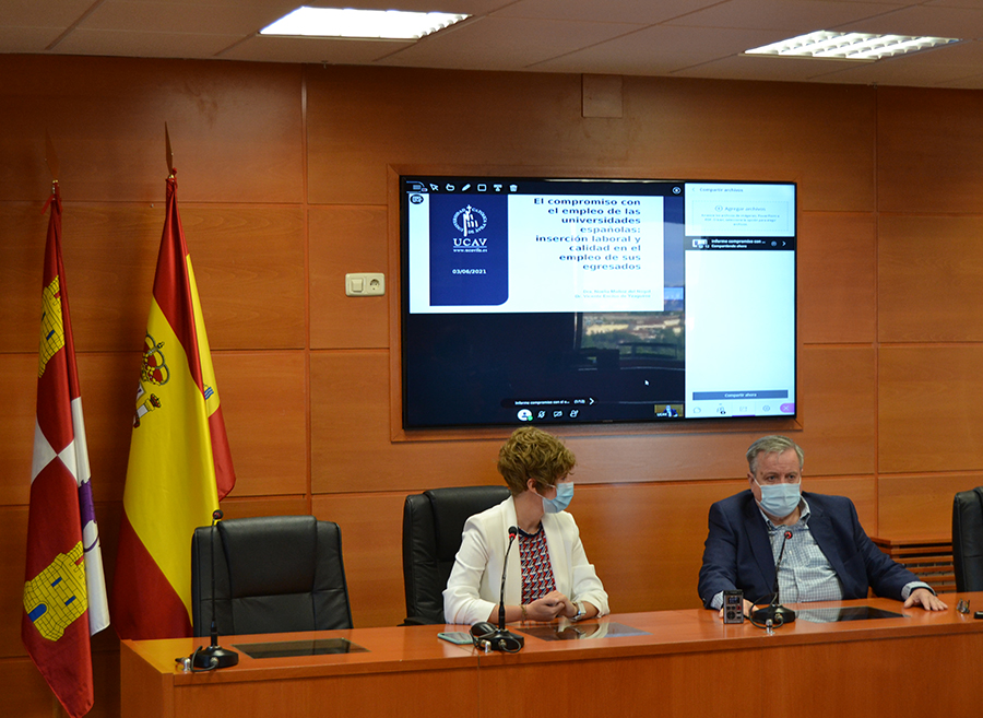 La Universidad Católica de Ávila es la universidad de Castilla y León mejor posicionada en la calidad del empleo de sus egresados