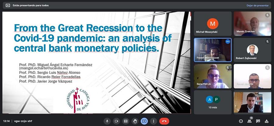 La UCAV participa en el 11Th International Conference On Applied Economics: Contemporary Issues in Economy