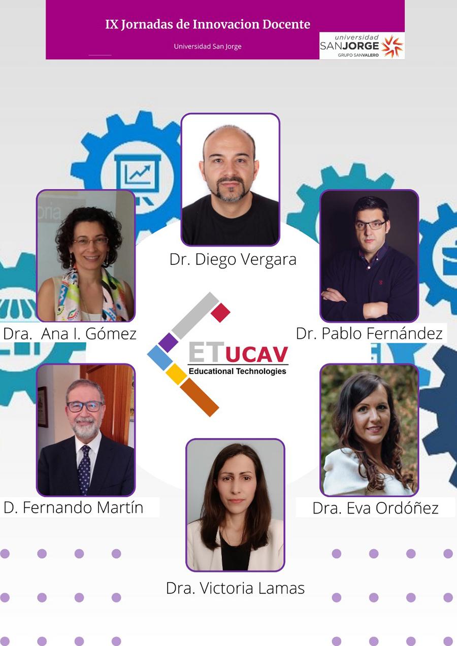 La UCAV participa en las IX Jornadas de Innovación Docente de la Universidad San Jorge