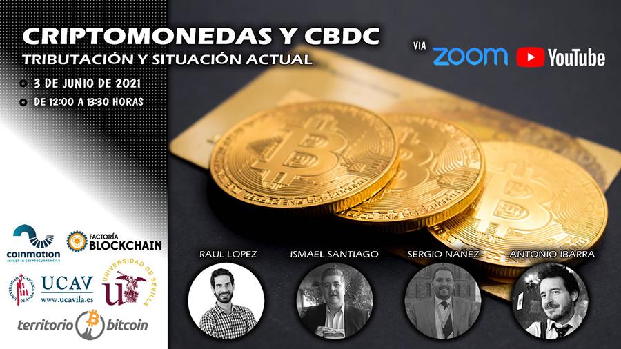 """La UCAV participará en la jornada """"Criptomonedas y CBDC-Tributación y Situación Actual"""" organizada por Territorio Bitcoin"""