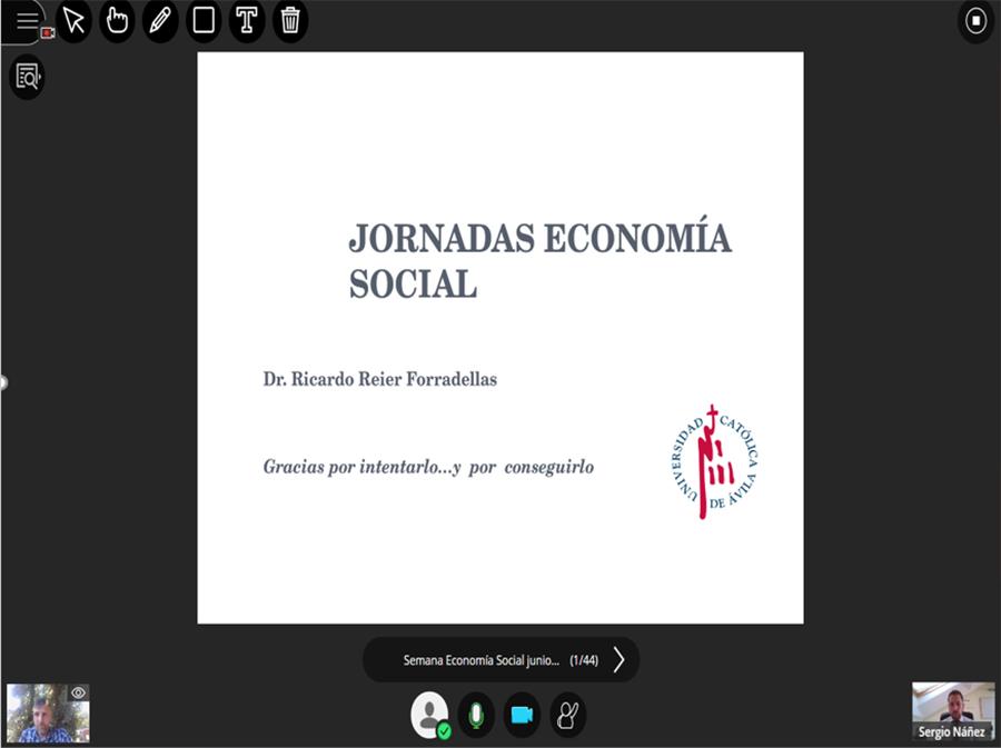 El emprendimiento social y el impacto de la crisis actual, protagonistas en el Seminario de Economía Social y Objetivos de Desarrollo Sostenible de la UCAV